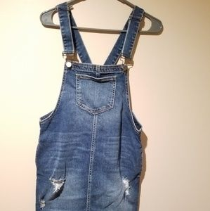 Denim - Denim dress overalls